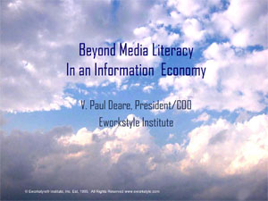 Beyond Media Literacy Presentation